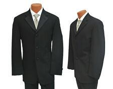 Men's Black Tuxedo & Pants Discount Sale Cheap Prom Halloween Costume Zombie Tux