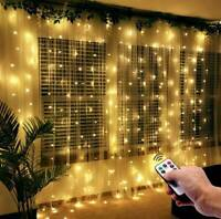 300 LED rideau guirlandes murales lumière USB chaîne suspendue fête mariage DE