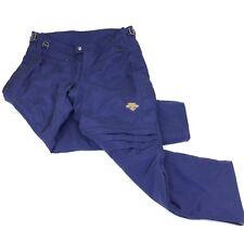 Descente Mens Ski Pants Vintage 90s Iridescent Blue Nylon XXL 42 x 31