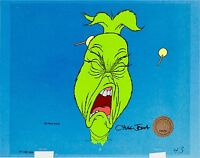 grinch stole christmas cel original production signed chuck jones cell dr suess