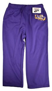 J America Youth Boys LSU Louisiana State Tigers Sweatpants Pants New S, M, L, XL