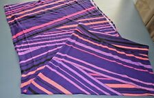 New ANA Long Skirt Small Purple & Pink Rayon Spandex A New Approach