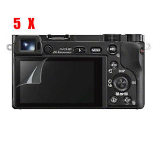 5X For Sony A6500 Alpha a6500 Clear Guard Film Screen LCD Protector Perfect Fit