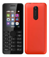 DUAL SIM CARD NOKIA 107 UNLOCKED GSM CELL PHONE CELLULAR FIDO ROGERS CHATR AT&T+