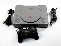Original PlayStation System PS1 Bundle - Discounted