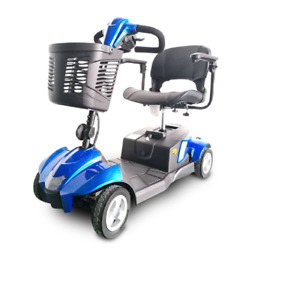New Ev Rider Wt-T4Sc-Blue Citycruzer 4 Wheel Power Scooter Blue