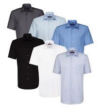 cd128992becbc Seidensticker Herren Kurzarm Herrenhemd Hemd Splendesto weiß blau grau    schwarz