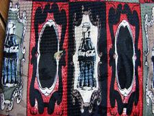 Mens Coca Cola Coke Bottle 100% Silk Tie ~ Red Gray Black Blue ~ Numbered Tie?