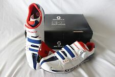 New Men's Scott Road RC BOA Carbon SPD-SL Cycling Shoes Bike EU 43 US 9.5 White