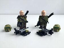 Lego Star Wars 2x Kashyyyk Scout Trooper - Set 75035 + Lego & Custom Equipment