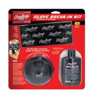 Rawlings Glove Break-In Kit BRKIT Baseball & Softball Oil Glove Wrap & Former