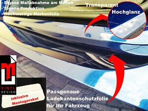 LACKSCHUTZFOLIE-LADEKANTENSCHUTZ FÜR ALFA 159 LIMOUSINE 2005-2011 TRANSPARENT