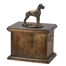 Deutsche Dogge, Urn, Kalte Bronze, ArtDog, CH, Type 1
