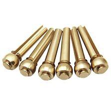 Brass Bridge Pins (Acoustic Guitar/5mm) X6