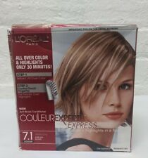 L'Oreal Couleur Experte Express Hair Color 7.1 Dark Ash Blonde Vanilla Icing