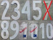 NUMERO VALSPORT bianco MAGLIA ANNI '60 '70 '80 VINTAGE NUMBER KIT SHIRT MAILLOT