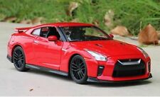 Nissan GT-R 2017 Model Cars Toy 1:24 Open two doors Collection Alloy Diecast Red