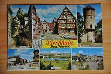 AK Kirchhain, Bez. Kassel, bunt, 6 Motive, gelaufen 1964,