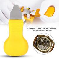 Soulève Ouvre Montre Capot Horloge Réparation outil Type  Quartz Snap Jaune