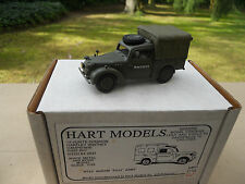 VEHICULE  MILITAIRE HART MODELS  REF H 55 AUSTIN TILLY COULEUR KAKI MINT  BOX