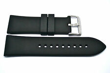 BLACK 26MM RUBBER COMPOSITE HIGH QUALITY SPORT WATCH BAND STRAP FITS INVICTA