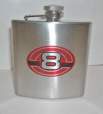 Dale Earnhardt Jr 8 NASCAR Metal Flask - BRAND NEW - NO BOX - Free Shipping!