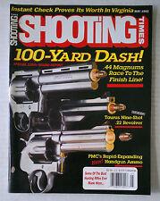 SHOOTING HANDGUN AMMO FIREARMS RIFLES MAGAZINE 9MM 45 1992 MAY MAGNUM TAURUS