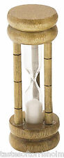 Kitchen Craft 3 Minute Wood Boiled Egg Traditional Sand Timer