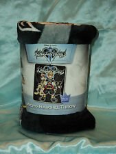 Kingdom Hearts II: Sora, Mickey, Donald Micro Rachel Blanket/Throw *Brand New*
