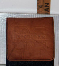 University of Michigan Men's Manicure Set in Leather Case