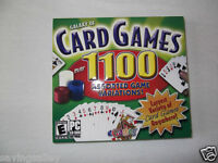 BRAND NEW Sealed Galaxy of Card Games Pack  (PC, 2007)