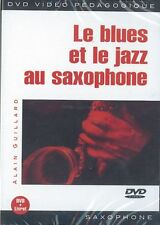 Guillard Alain le BLUES et le JAZZ AU Sassofono Sax musica ■ DVD francese