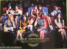"GIRLS GENERATION ""COMPLETE VIDEO COLLECTION"" PROMO POSTER FROM THAILAND - K-Pop"