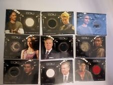 SGU SG-1 Stargate Universe  TV SHOW Costume Archive Relic Huge Chase Card Lot