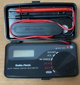 Radio Shack 22-179A Auto-Range Pocket Digital Multimeter
