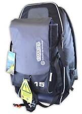 Camping Hiking Festival Large Anti Theft Rucksack Backpack + Extra Day Pack Grey