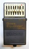 BOSS GE-7B Bass Equalizer Guitar Effects Pedal 1994 #37 Free Shipping
