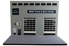 Diorama Garage MAN Truck & Bus Center - 1/50ème - #50-2-E-E-002