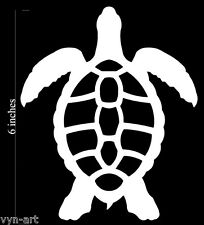 Sea Turtle - Aquatic Life vinyl decal for your car! (Choose any color!)