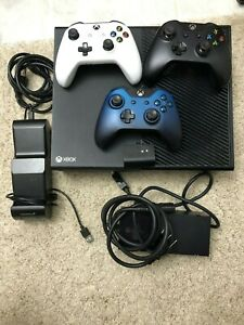 Microsoft Xbox One 500GB Black Console - with 3 Controllers and a charger