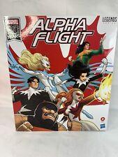 Marvel Legends Alpha Flight Box Set Of Six Figures