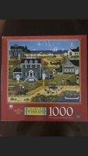 NEW Sealed Vintage Charles Wysocki's Americana Thicketberry Cove 1000 pc Puzzle