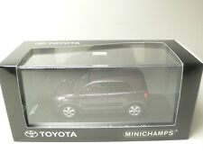 THE NEW URBAN CRUISER WITH TOYOTA OPTIMAL DRIVE PURPLE MINICHAMPS 1:43