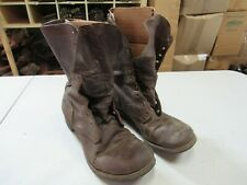 WWII Korea Jump Combat Boots Originals Russet Leather (10 1/2) #3