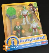 "Mummy & Serpent Guards Imaginext 2017 Treasure Hunter Adventure Figure Set ""NEW"""