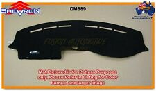 Black Dashmat for FORD Falcon BA-BF 9/2002-5/2008 Luxury Pack Dash Mat DM889