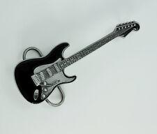 ROCKN `RODILLO GUITARRA ELÉCTRICA Hebilla Guitarrista De Cinturón 028 Azul