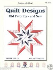 Old Favorites & New Aunt Martha's Quilt Patterns