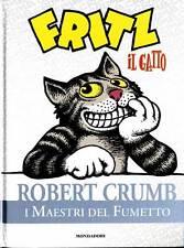 Maestri del fumetto 27 little  Fritz il gatto - Robert Crumb - Ottimo !