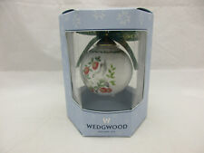 Wedgwood Twelve Days of Christmas Two Turtle Doves Ball Ornament